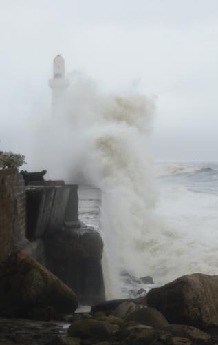 Point South Breakwater Aberdeen