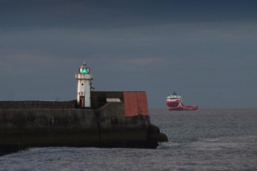 Leading Light, North Pier, Aberdeen Harbour