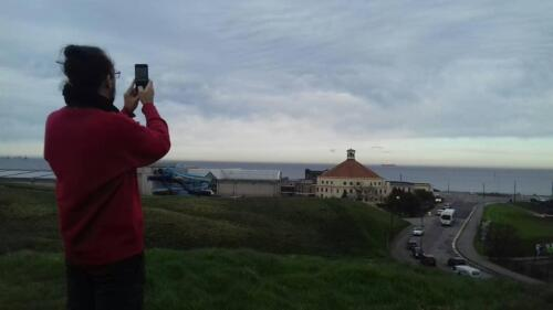 Viewing the North Sea